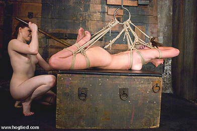 nude woman sexual bondage torture