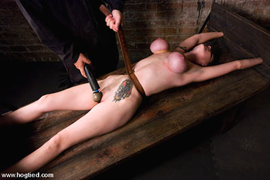 crucifixion of woman bdsm