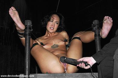 pierced pussy bondage