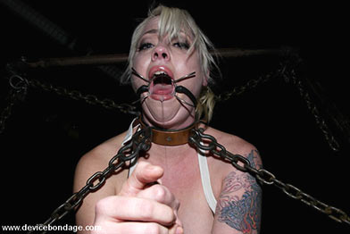 Bdsm execution hanging clips