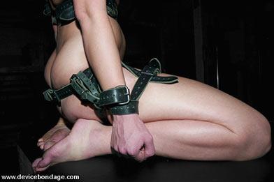 Bondage slave woman