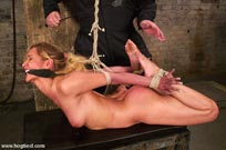 hogtied bdsm in vidcaps