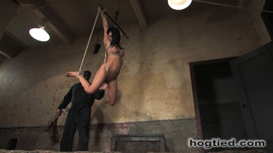 kinky bondage slave