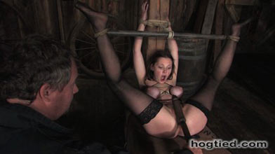 hogtied slaves