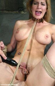 beautiful bondage hogtied and bound