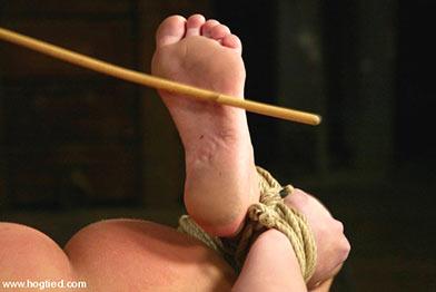 women in bedroom bondage